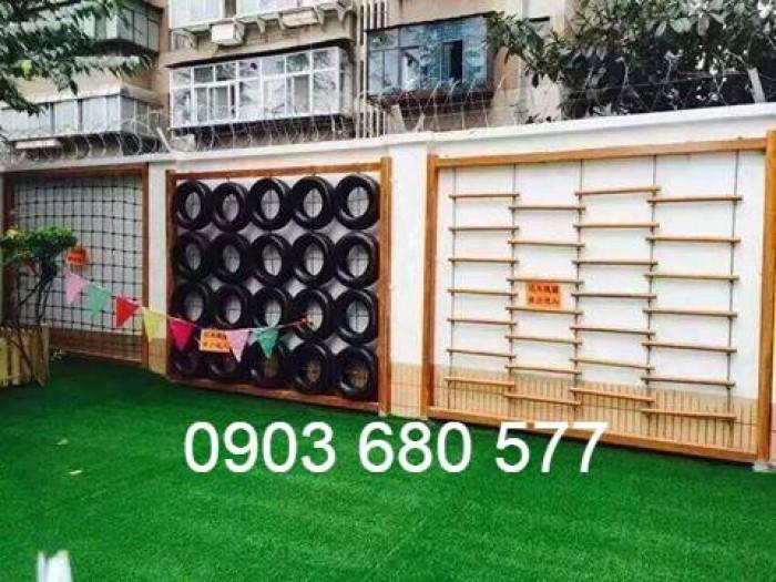 Chuyên cung cấp cỏ nhân tạo cho trường mầm non, công viên, sân chơi2