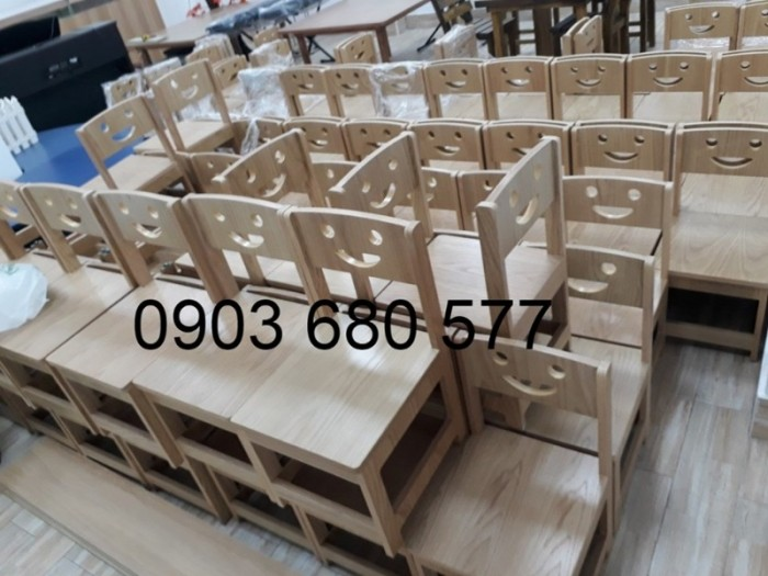 Chuyên bán bàn ghế gỗ trẻ em cho trường mầm non, lớp mẫu giáo12