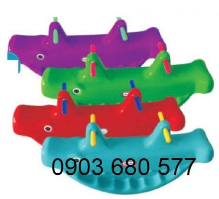 Chuyên bán bập bênh mầm non giá rẻ, an toàn, chất lượng cho trẻ18