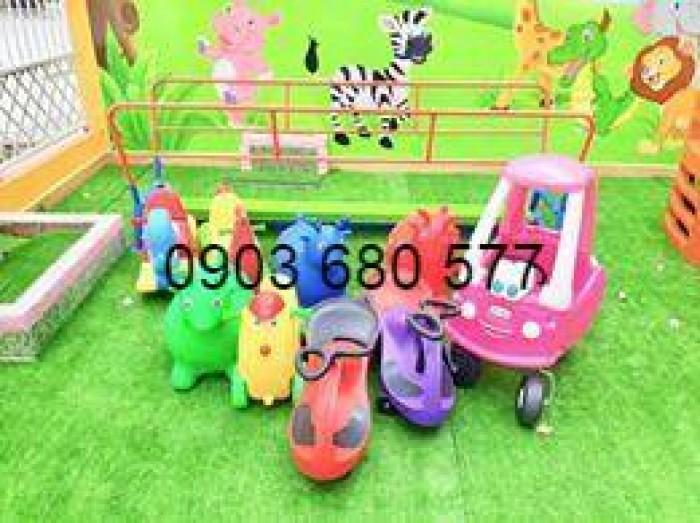 Chuyên bán bập bênh mầm non giá rẻ, an toàn, chất lượng cho trẻ6