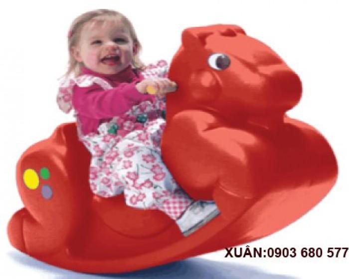 Chuyên bán bập bênh mầm non giá rẻ, an toàn, chất lượng cho trẻ12