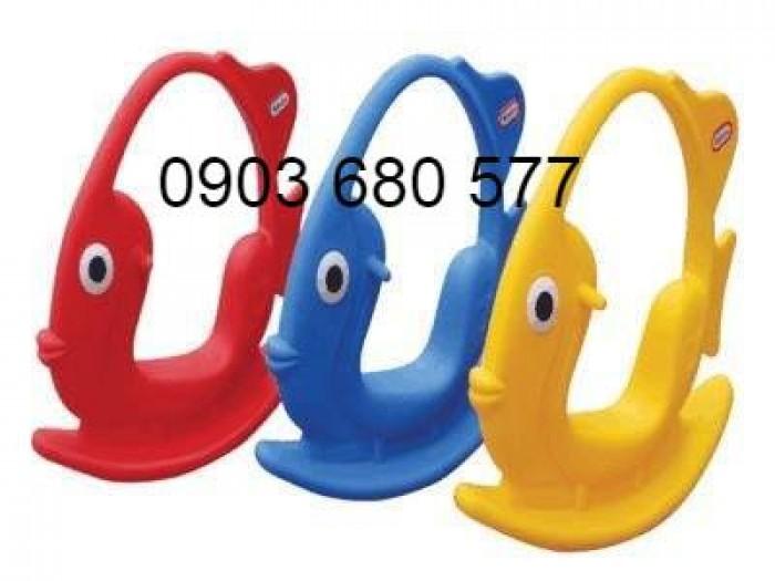 Chuyên bán bập bênh mầm non giá rẻ, an toàn, chất lượng cho trẻ9