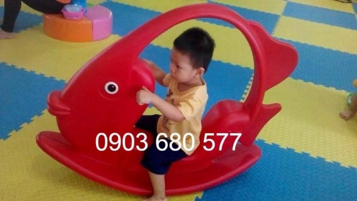 Chuyên bán bập bênh mầm non giá rẻ, an toàn, chất lượng cho trẻ10