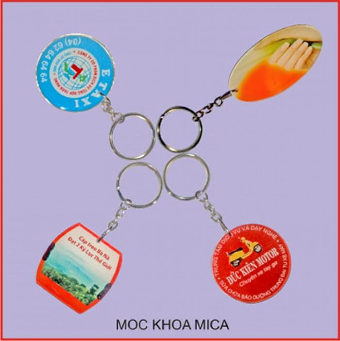 Móc Khóa In Logo_ Quà tặng tri ân giá rẻ24