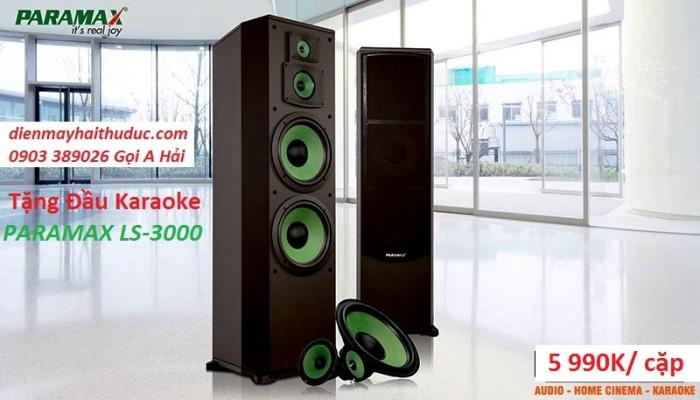 Loa đứng Paramax F-2000 dòng loa đứng karaoke cao cấp trên thị trường hiện nay với công suất cực đại0