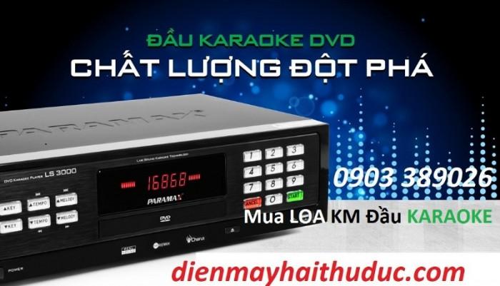 Mua Loa đứng Paramax F-2000 tại Điện Máy Hải được Đặc biệt KHUYẾN MÃI 1 ĐẦU KARAOKE PARAMAX LS-3000, đầy đủ Đĩa karaoke Vol 08 + List nhạc.  + Chương trình được áp dụng từ bây giờ đến tết 2020.2