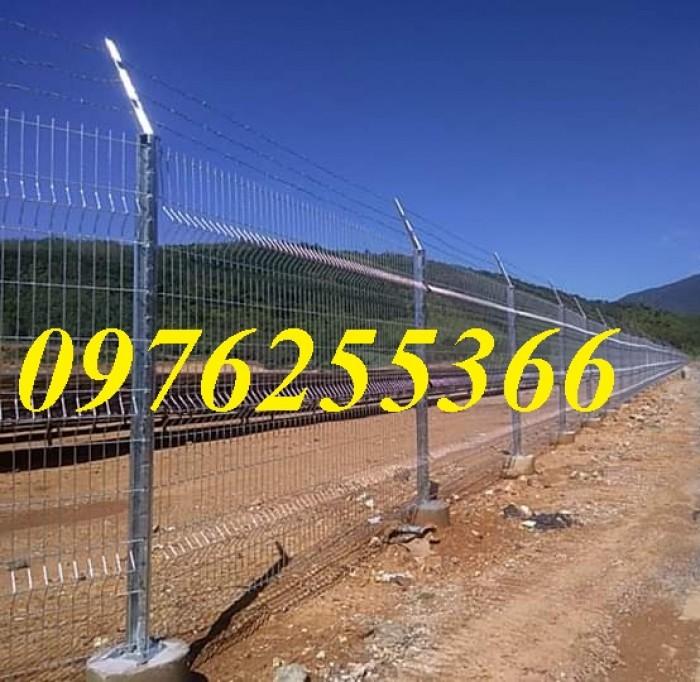 Hàng rào lưới thép, hàng rào mạ kẽm, sơn tĩnh điện, hàng rào nhà kho11