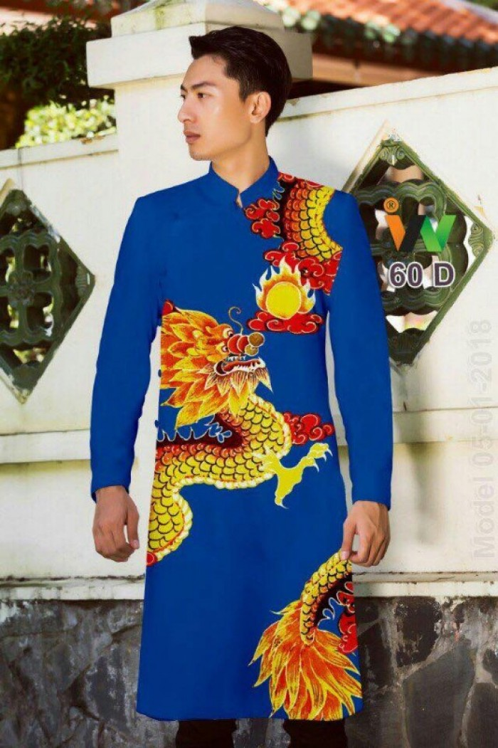 vải may áo dài nam nhận bán vải hoặc may luôn gửi đi trong nước và nước ngoài5