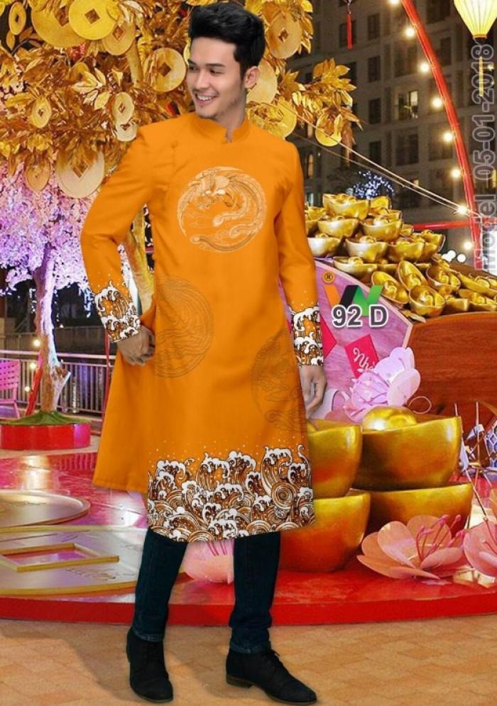 vải may áo dài nam nhận bán vải hoặc may luôn gửi đi trong nước và nước ngoài13