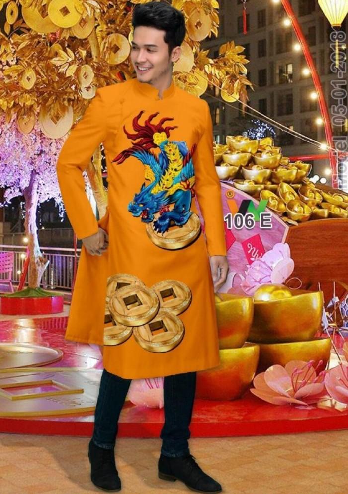 vải may áo dài nam nhận bán vải hoặc may luôn gửi đi trong nước và nước ngoài16