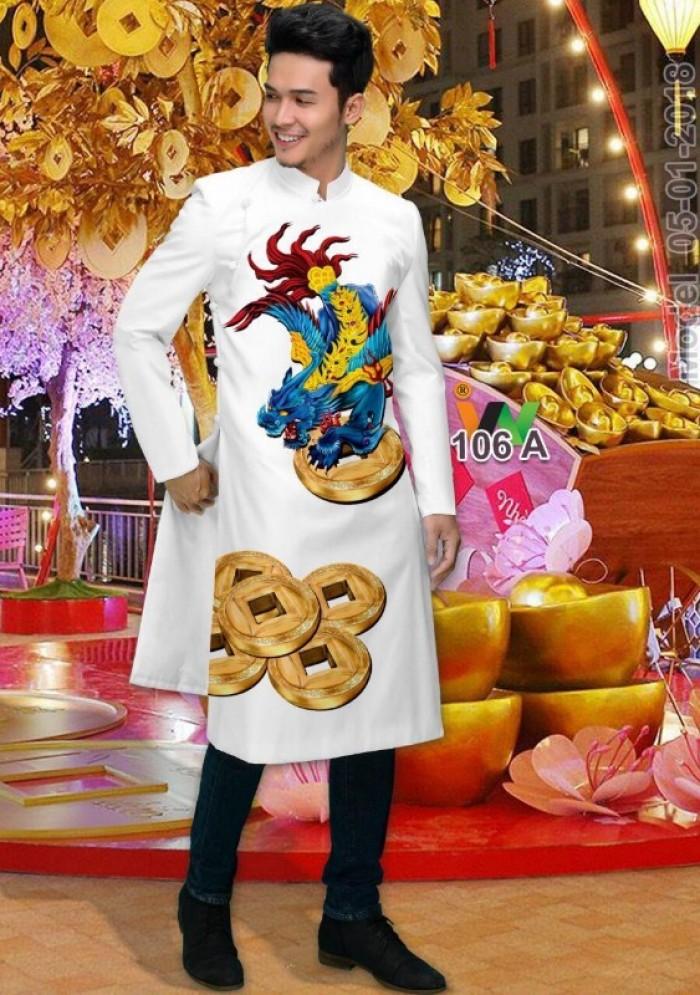 vải may áo dài nam nhận bán vải hoặc may luôn gửi đi trong nước và nước ngoài17