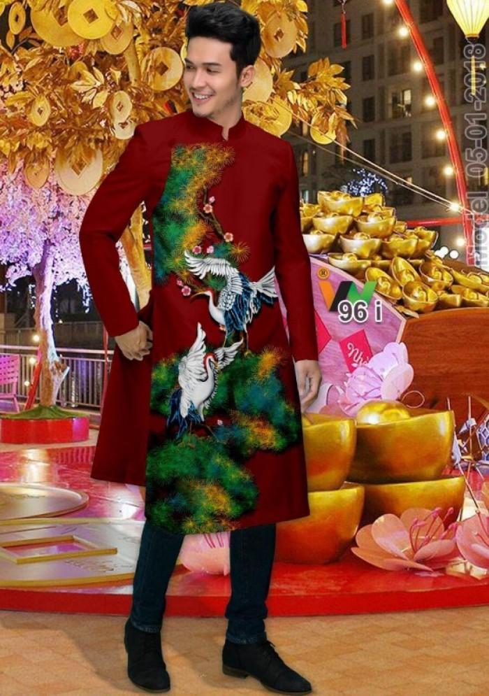 vải may áo dài nam nhận bán vải hoặc may luôn gửi đi trong nước và nước ngoài21