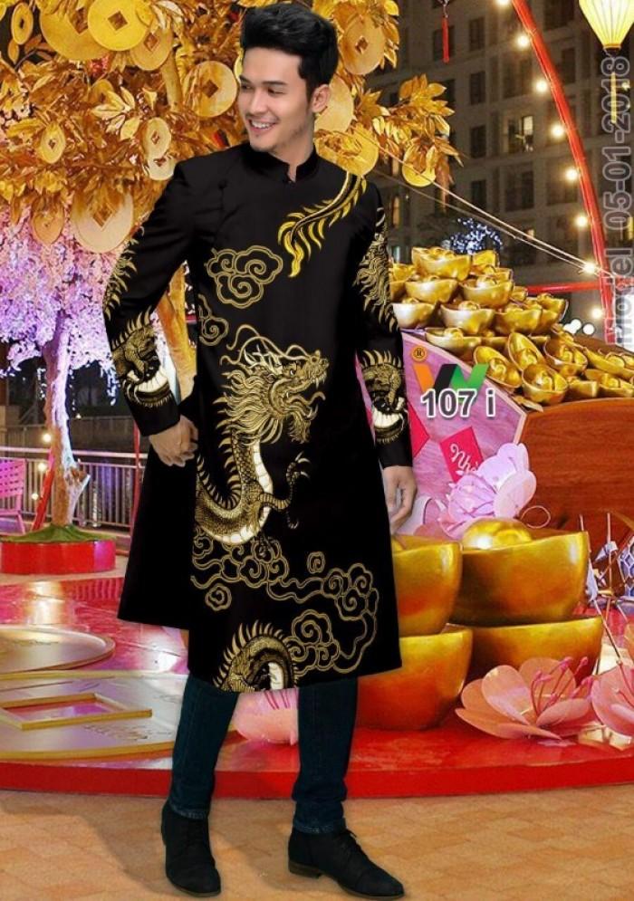 vải may áo dài nam nhận bán vải hoặc may luôn gửi đi trong nước và nước ngoài20