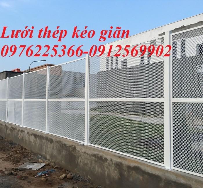Hàng rào lưới thép, hàng rào mạ kẽm, sơn tĩnh điện, hàng rào nhà kho13