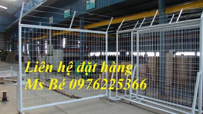 Hàng rào lưới thép, hàng rào mạ kẽm, sơn tĩnh điện, hàng rào nhà kho14