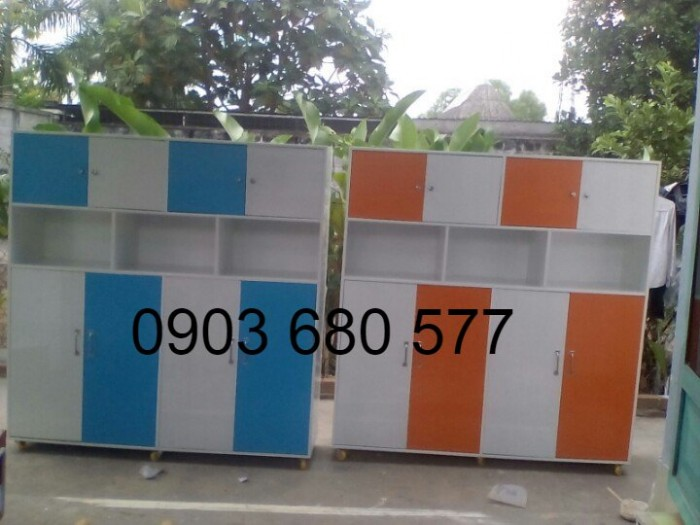Cung cấp tủ trẻ em cho trường mầm non, lớp mẫu giáo, nhà trẻ2