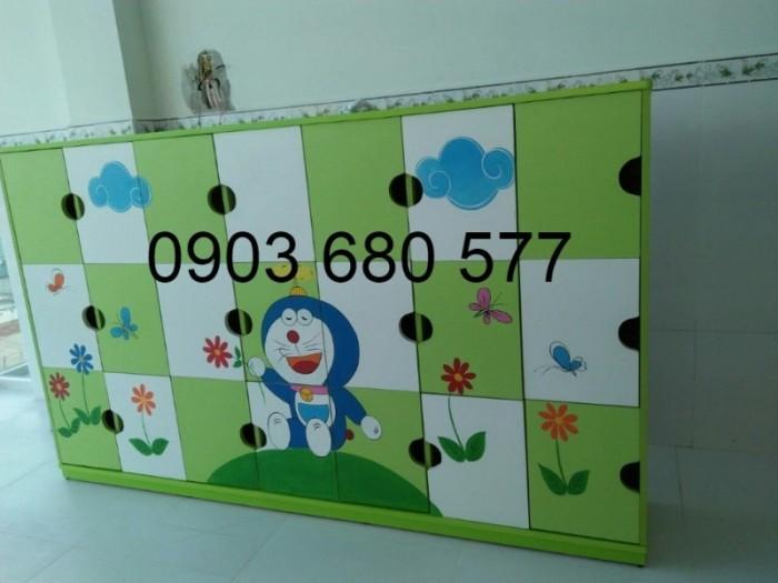 Cung cấp tủ trẻ em cho trường mầm non, lớp mẫu giáo, nhà trẻ11