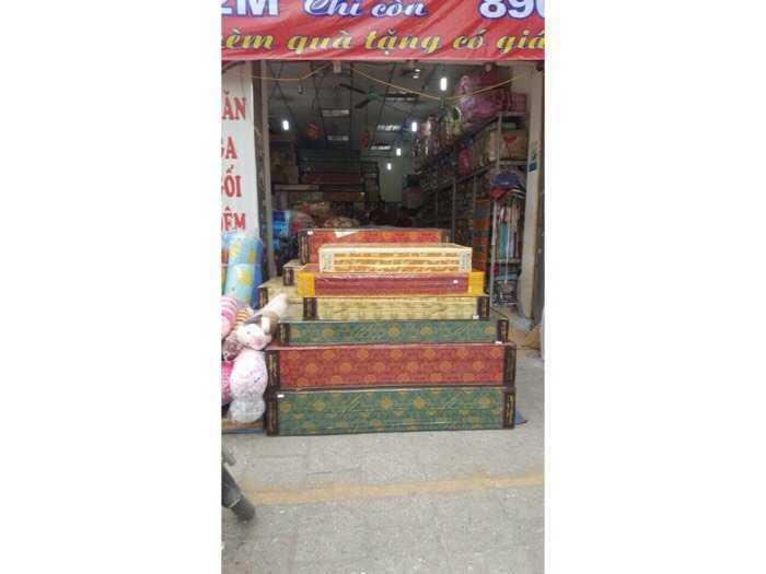 Đệm Bông Ép, Siêu Nhẹ bền đẹp các loại Việt Trì3