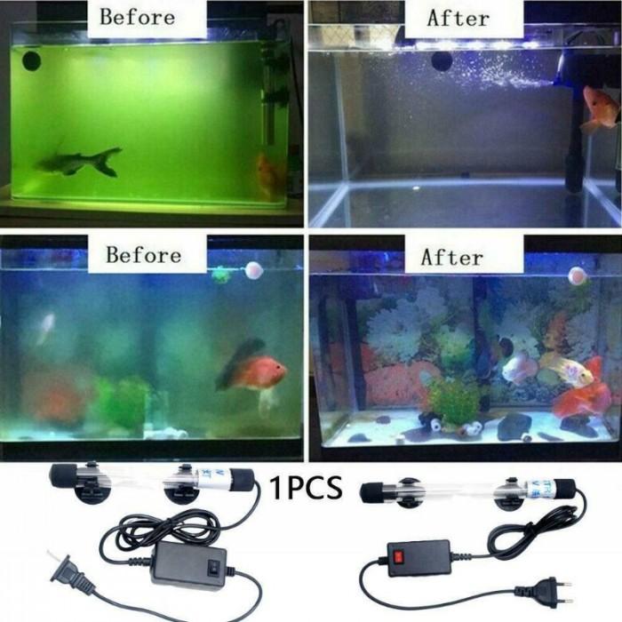 Đèn Led UV 5W Diệt Tảo Diệt Khuẩn Làm Sạch Bể Cá Cảnh Dưới 300 Lít2
