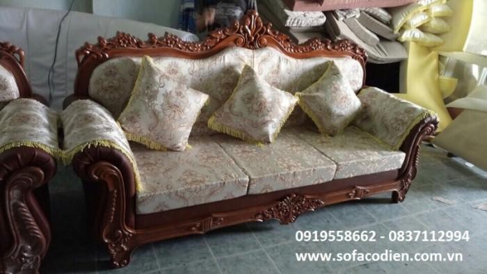Thanh lý sofa cổ điển, hàng mới giảm 25% so với giá gốc, nhanh tay kẻo hết