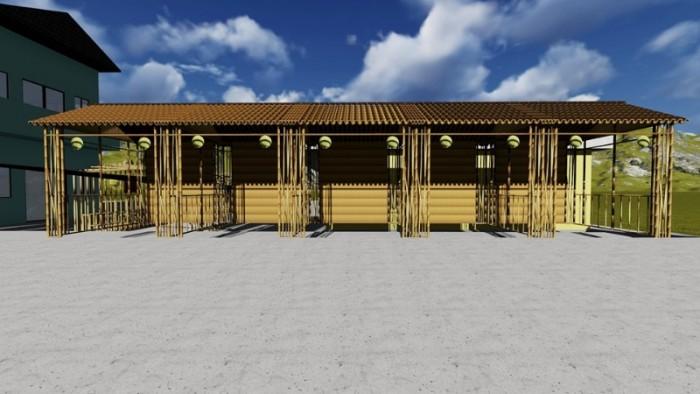 BambooVietArt - thi công gian hàng tre nứa cho sự kiện triễn lãm lớn tại TP Hồ Chí Minh - Sài Gòn5