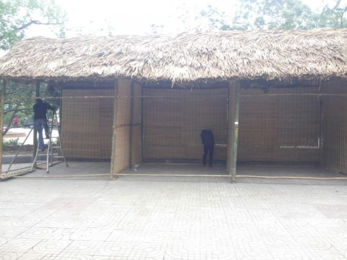 BambooVietArt - thi công gian hàng tre nứa cho sự kiện triễn lãm lớn tại TP Hồ Chí Minh - Sài Gòn6