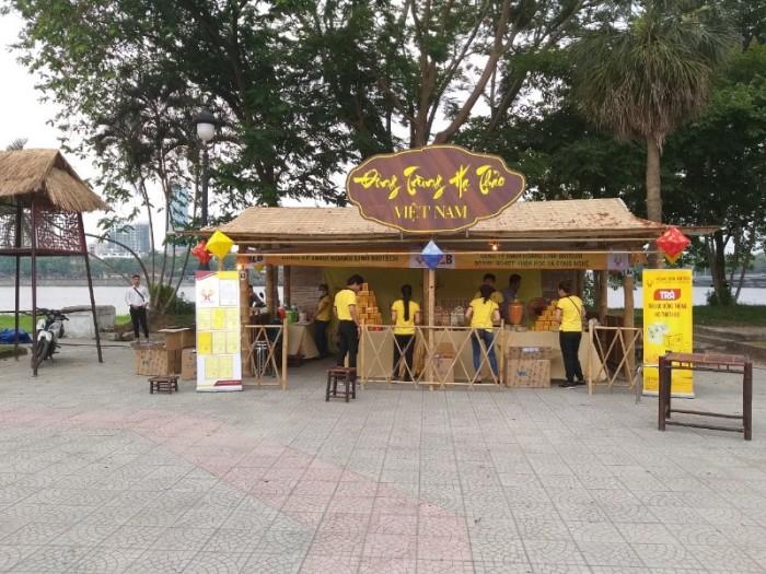 BambooVietArt - thi công gian hàng tre nứa cho sự kiện triễn lãm lớn tại TP Hồ Chí Minh - Sài Gòn8