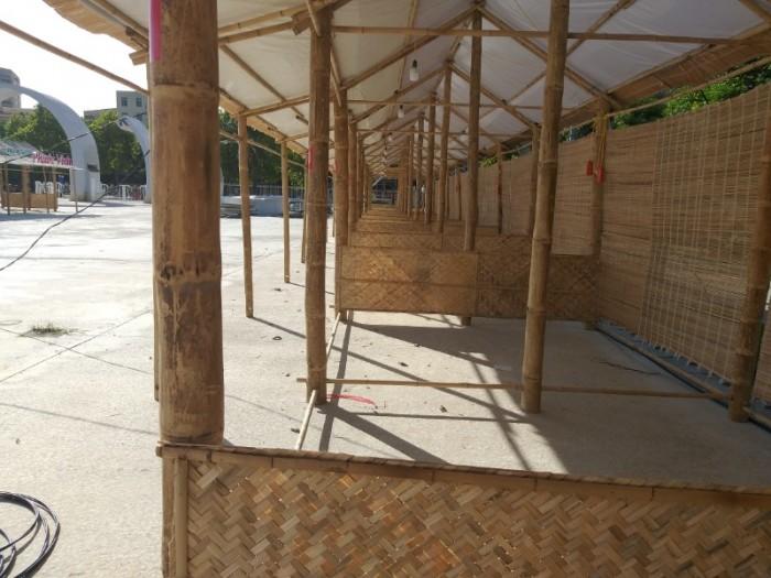 Thi công gian hàng triển lãm bằng tre tại TP Hồ Chí Minh