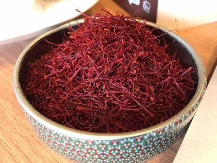 Nhụy hoa nghệ tây Saffron1
