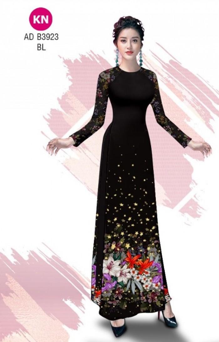 Vải áo dài độc đáo cho ngày tết 2020 của vải áo dài Kim ngọc ADKN B392312