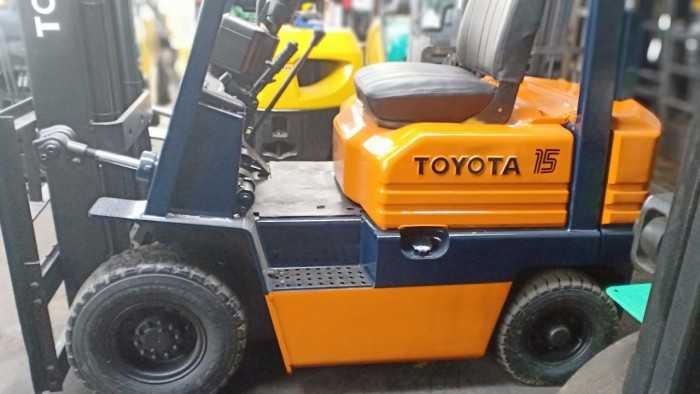 Xe nâng dầu  TOYOTA A5FD15 Công ty xe nâng IDT Việt Nam