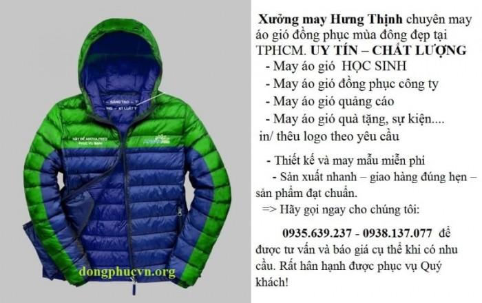 May áo khoác đồng phục giá rẻ11
