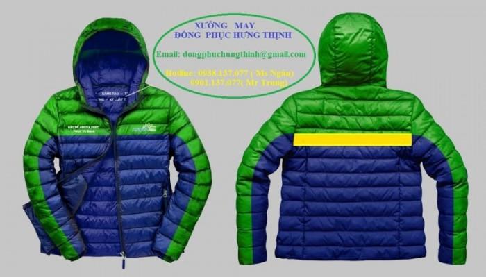 May áo khoác đồng phục giá rẻ18