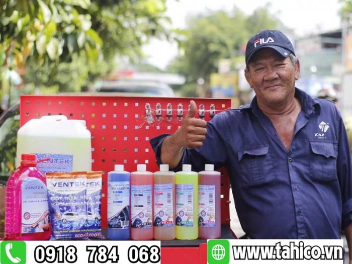 Dung dịch rửa xe không chạm Ventek Vet70 1 lít Tahico2