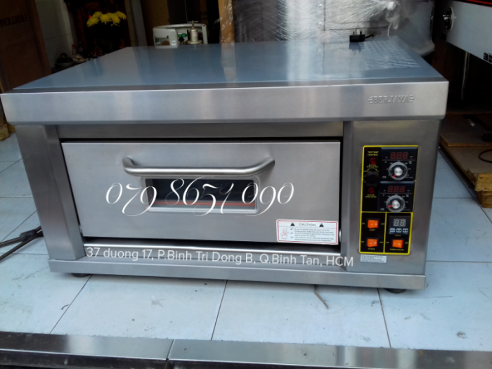 Lò nướng bánh 1 tầng 1 khay dùng gas Berjaya1