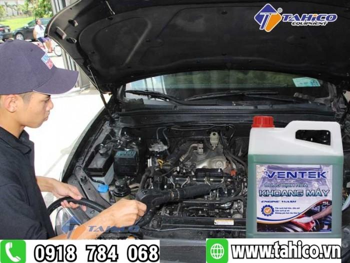 Dung dịch rửa khoang máy ô tô xe máy ventek 5 lít tahico2