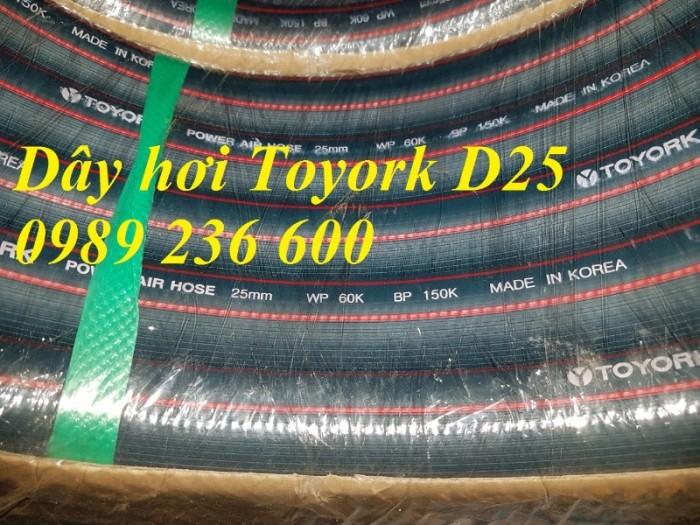 Dây hơi Toyork D6.5, D8, D9.5, D13, D16,D19, D25 hàng sẵn kho3