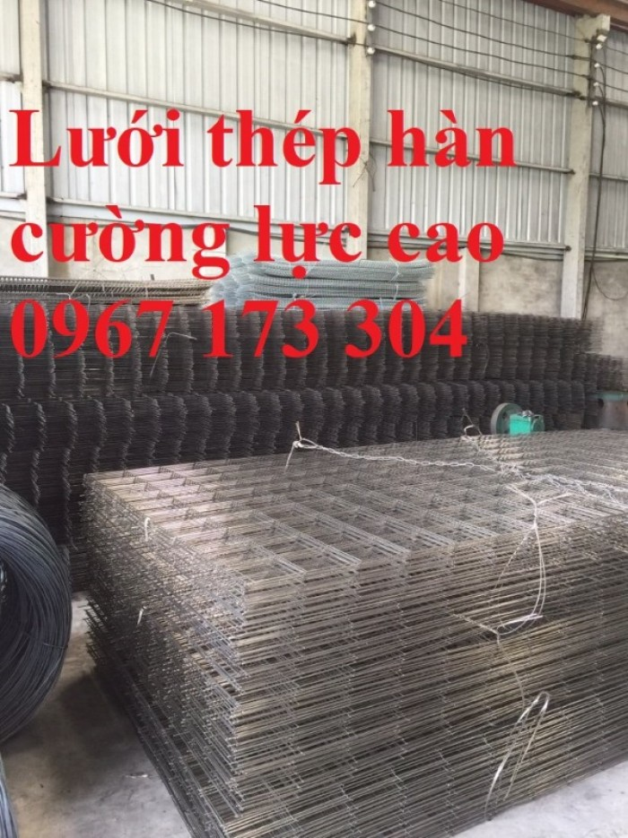 Lưới thép hàn tạo cường lực giúp giảm chi phí nhân công buộc thép2