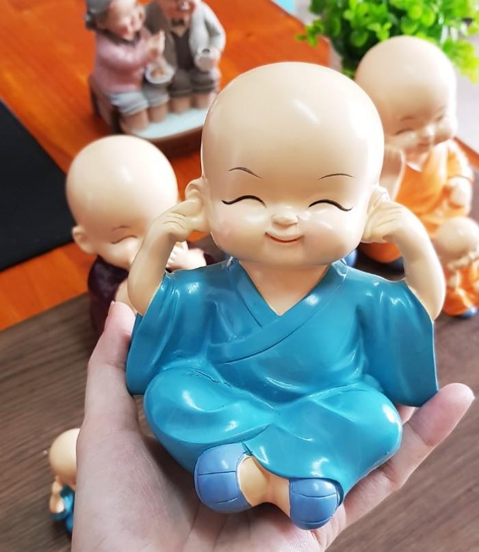 Bộ 04 tượng Tứ Không size to 13cm6