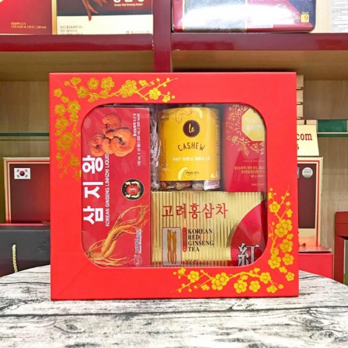 Hộp Quà Tết Quà Tặng Sức Khỏe Nhân Sâm Cao Cấp Hàn Quốc3