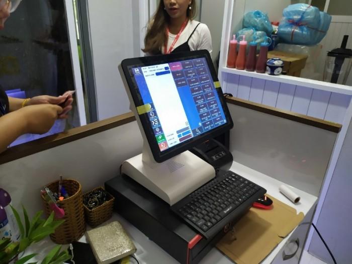 Bán máy tính tiền cho nhà hàng giá rẻ tại Hà Tĩnh2