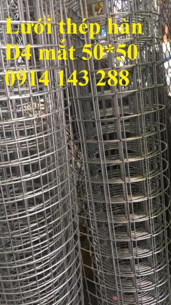 Lưới thép hàn ô vuông D4(50*50) chất lượng cao7