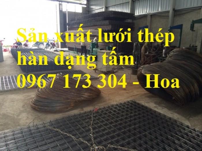 Lưới thép hàn D4(150*150), Lưới thép hàn, lưới thép đổ sàn bê tông0