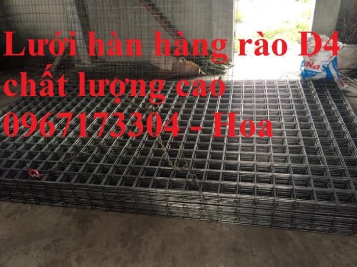 Lưới thép hàn D4(150*150), Lưới thép hàn, lưới thép đổ sàn bê tông4