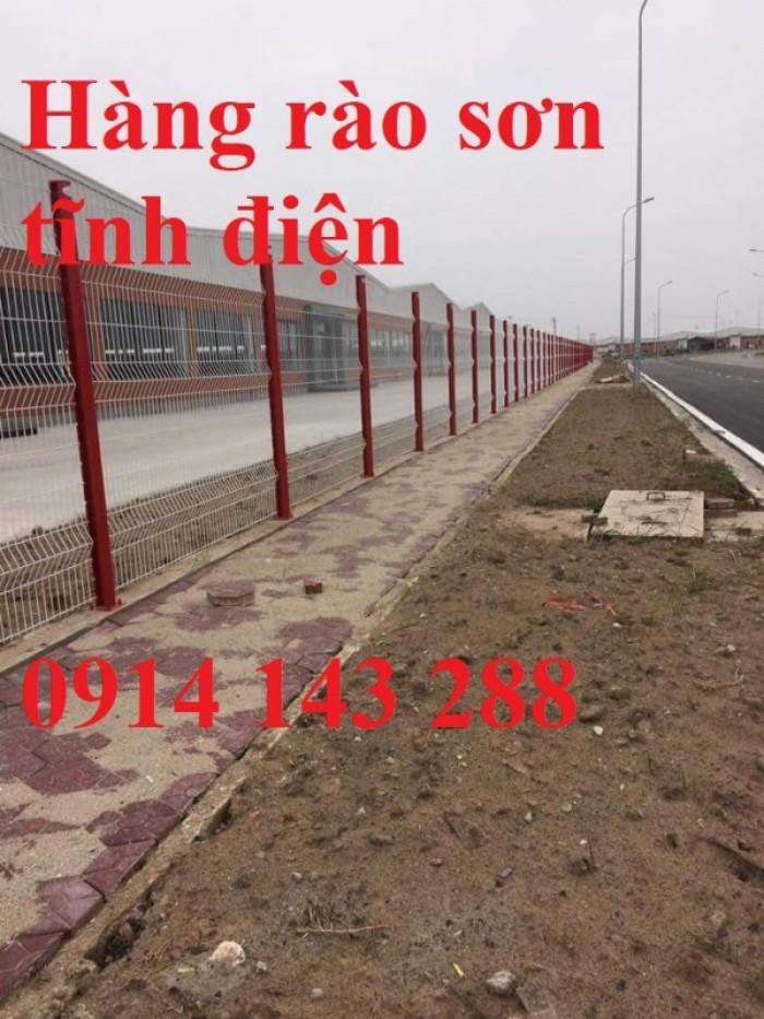 Hàng rào lưới thép sơn tĩnh điện chất lượng cao1