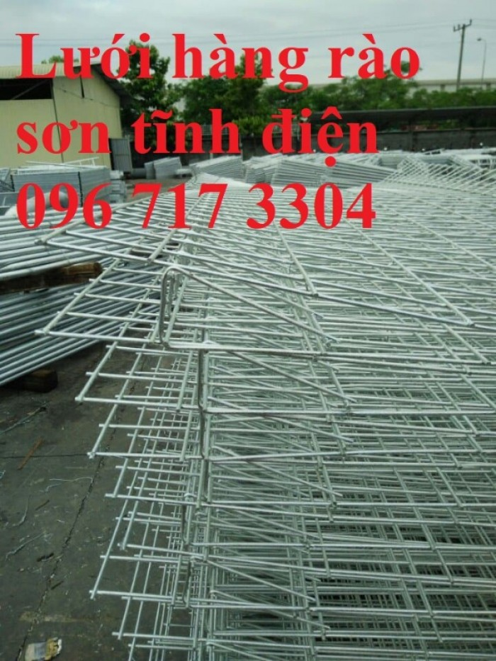 Hàng rào lưới thép sơn tĩnh điện chất lượng cao3