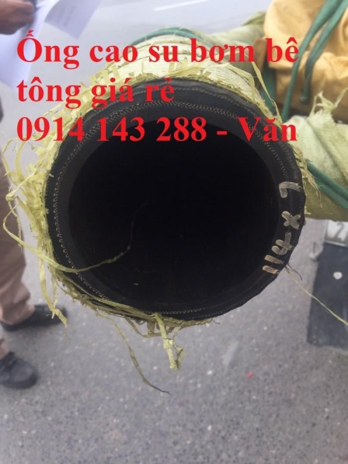 Ống cao su bơm bê tông bơm xi măng chất lượng cao D114, D125 giá rẻ0