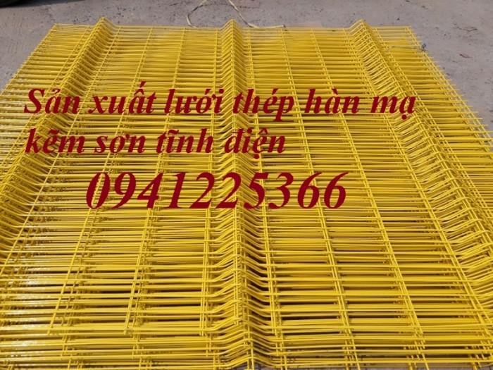 Lưới thép hàn D4 a(50x50), D4 a(50x100), D5 a(150x150) ... mạ kẽm sơn tĩnh điện2