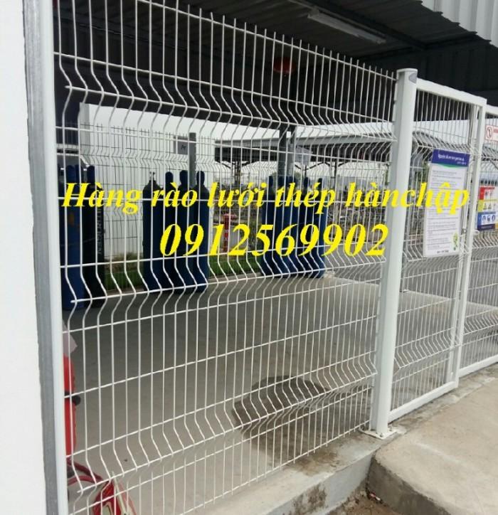 Lưới thép hàn D4 a(50x50), D4 a(50x100), D5 a(150x150) ... mạ kẽm sơn tĩnh điện6