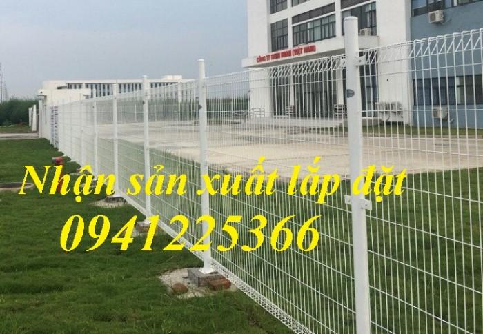 Lưới thép hàn D4 a(50x50), D4 a(50x100), D5 a(150x150) ... mạ kẽm sơn tĩnh điện9